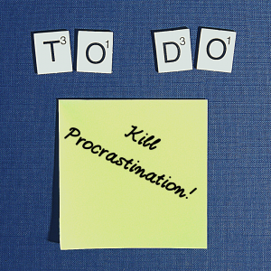 Killing Ms Procrastination