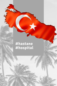 Hastane means hospital in Turkish